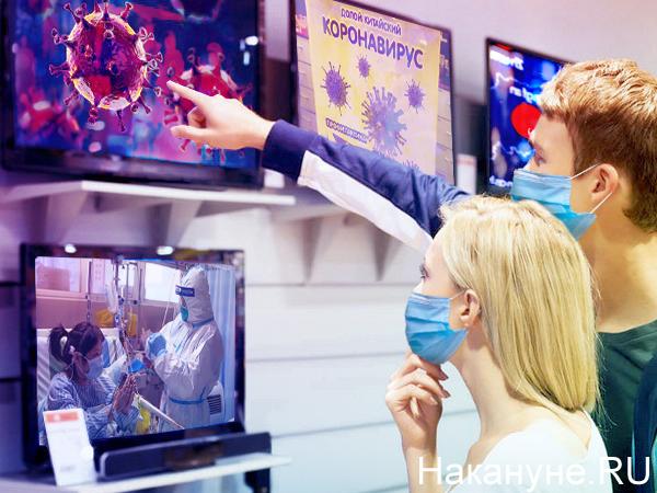 Коллаж, коронавирус(2020)|Фото: Накануне.RU