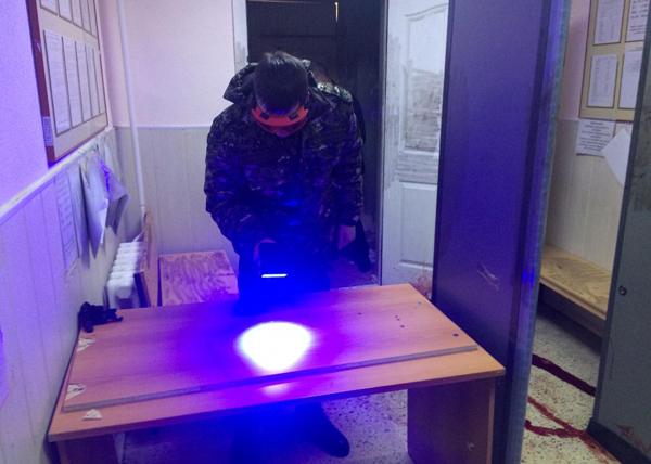 Следователь на месте резни в Первоуральске(2020)|Фото: СУ Следственного комитета РФ по Свердловской области