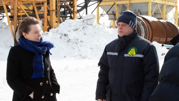 Наталья Комарова, визит в Нижневартовск(2020)|Фото: Администрация Нижневартовска