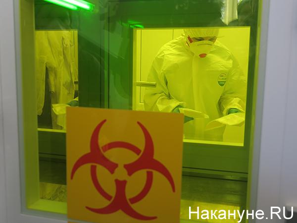 Лаборатория, где будут проводиться проверка на коронавирус в Екатеринбурге(2020)|Фото: Накануне.RU
