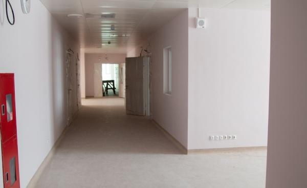 Больница-долгострой, инфекционный корпус, Нижневартовск(2020) Фото: Администрация Нижневартовска