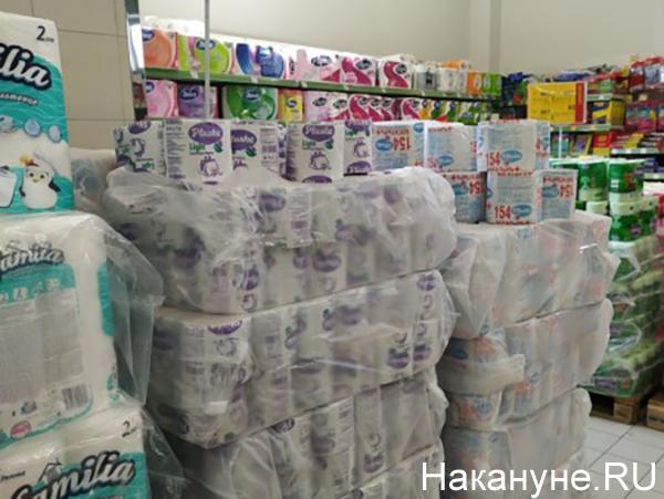 Туалетная бумага в Севастополе(2020)|Фото: Накануне.RU