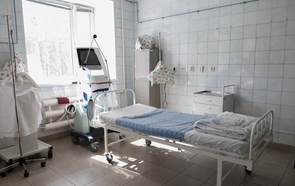 Госпиталь для больных коронавирусом, гинекологическое отделение, Нижневартовск(2020)|Фото: Администрация Нижневартовска