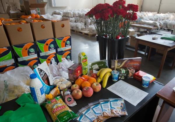 продуктовые наборы ветеранам(2020)|Фото: пресс-служба губернатора Челябинской области