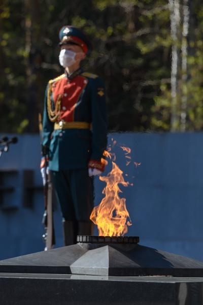 вечный огонь, 75 лет Победы(2020)|Фото: Департамент информационной политики Свердловской области