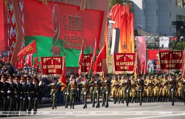Сегодняшний Парад Победы впервые за много лет...