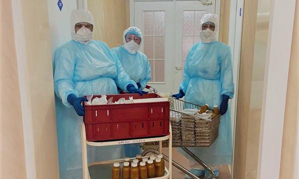 Госпиталь для пациентов с коронавирусной инфекцией в Новом Уренгое(2020)|Фото: Правительство ЯНАО