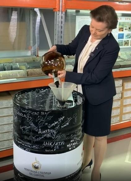 Наталья Комарова, 12-миллиардная тонна нефти(2020) Фото: www.instagram.com/Наталья Комарова