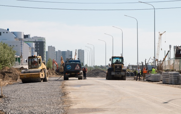 Улица Пикмана, ремонт, Нижневартовск(2020)|Фото: Пресс-служба администрации Нижневартовска