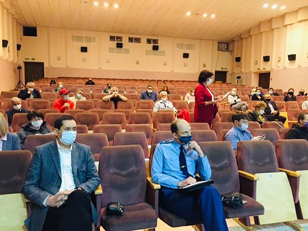 Заседание координационного Совета по инвестициям предприниматели Заречного(2020)|Фото: Администрация Заречного