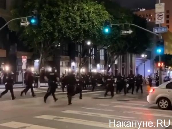 Погромы в Сан-Франциско(2020)|Фото: Накануне.RU