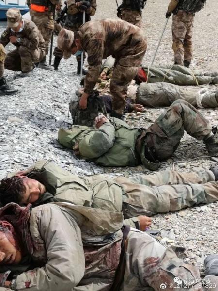 Индийские и китайские солдаты на границе(2020)|Фото: mp.weixin.qq.com