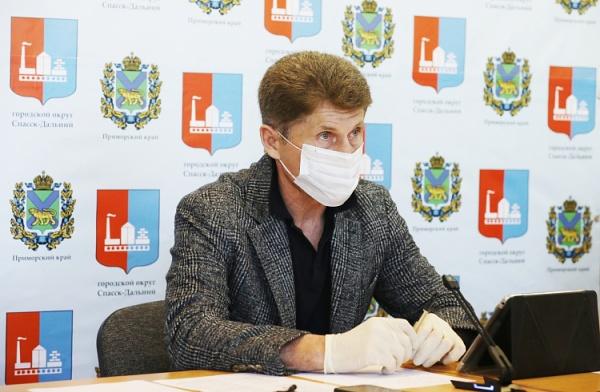 Олег Кожемяко(2020)|Фото: primorsky.ru, Игорь Новиков