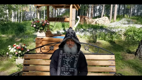 схиигумен Сергий (Романов)(2020) Фото: кадр из видео на YouTube
