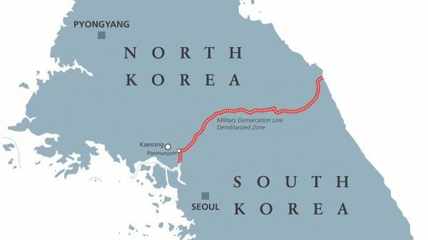 Демилитаризованная зона на Корейском полуострове(2020)|Фото: vaticannews.va