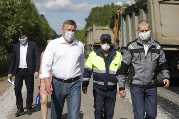 кувшинников, вологодская область, дорога(2020) Фото: пресс-служба правительства Вологодской области