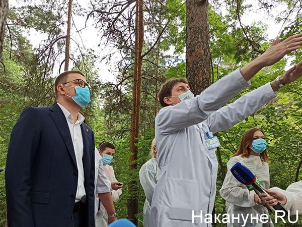 Челябинский городской бор, Алексей Текслер(2020)|Фото: Накануне.RU