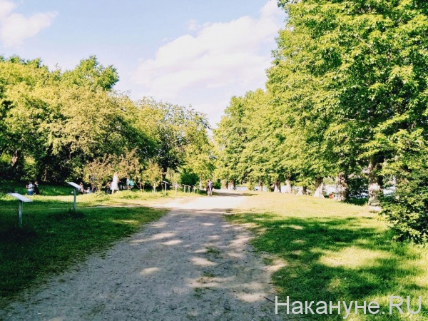 Парк УрГУПС(2020)|Фото: Накануне.RU