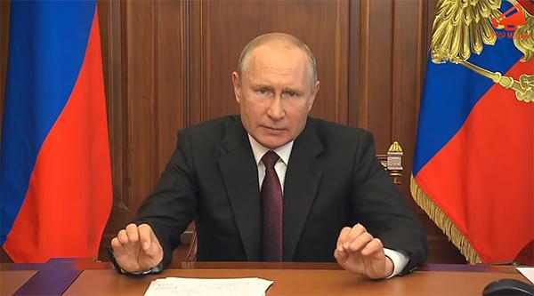 Владимир Путин(2020)|Фото: youtube.com/Рупор Москвы