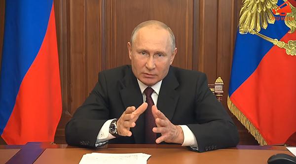Владимир Путин(2020) Фото: youtube.com/Рупор Москвы