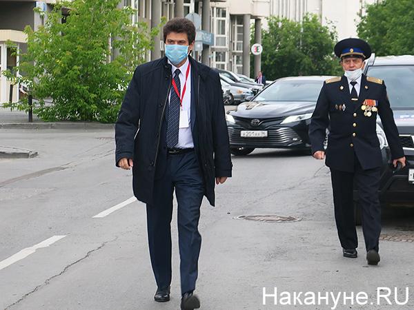 Александр Высокинский, парад Победы в Екатеринбурге(2020)|Фото: Накануне.RU
