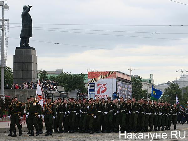 парад Победы в Екатеринбурге(2020) Фото: Накануне.RU