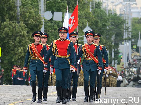 парад Победы в Екатеринбурге(2020)|Фото: Накануне.RU