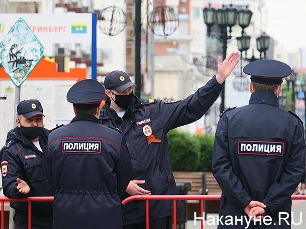полиция, парад Победы в Екатеринбурге(2020)|Фото: Накануне.RU