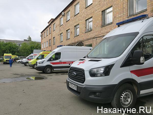 Машины скорой медицинской помощи(2020)|Фото: Накануне.RU
