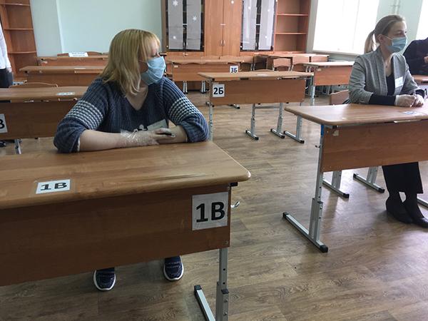Проверка к сдаче ЕГЭ(2020)|Фото: Департамент информационной политики Свердловской области