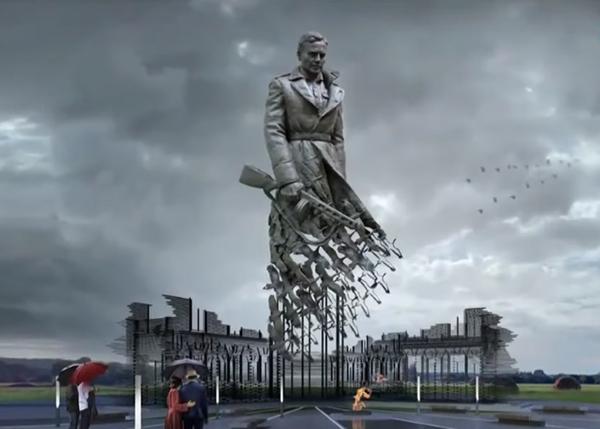 Ржевский мемориал советскому солдату.(2020) Фото: Россия 1