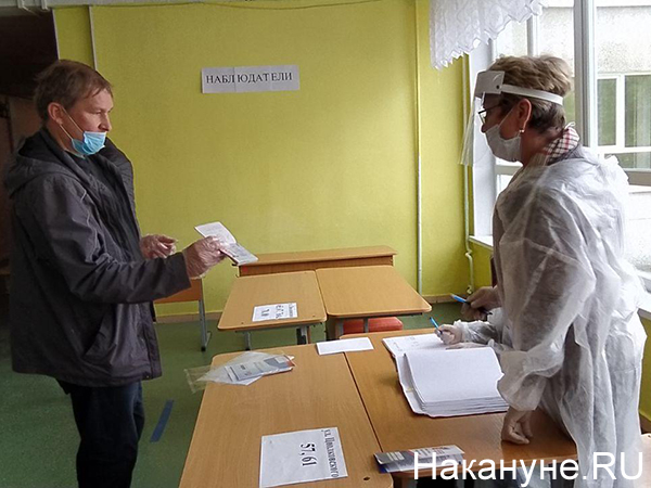 Голосование по поправкам в Конституцию РФ(2020)|Фото: Накануне.RU