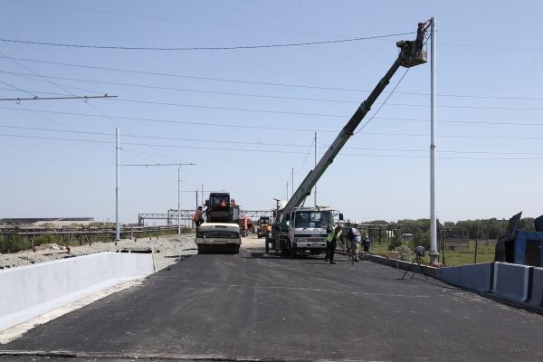 мосту в районе Коксохима, реконструкция,(2020) Фото: пресс-служба губернатора Челябинской области