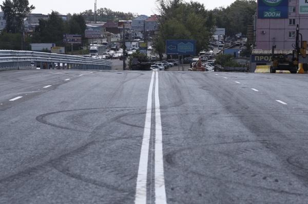 развязке на улице Дарвина,(2020) Фото: пресс-служба губернатора Челябинской области
