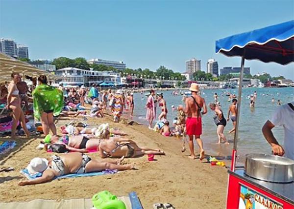 Пляж в Анапе(2020)|Фото: instagram.com/anapacity_com