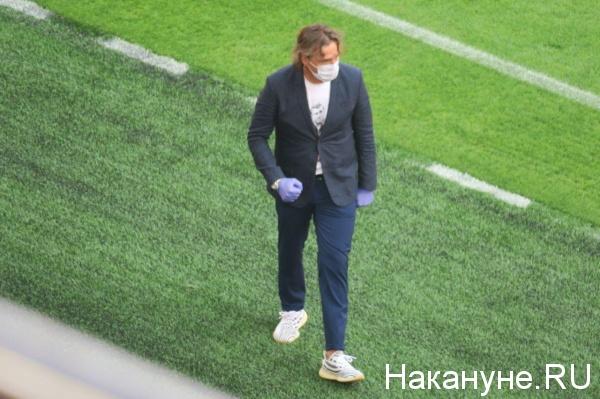 главный тренер ФК Химки Сергей Юран(2020)|Фото: Накануне.RU