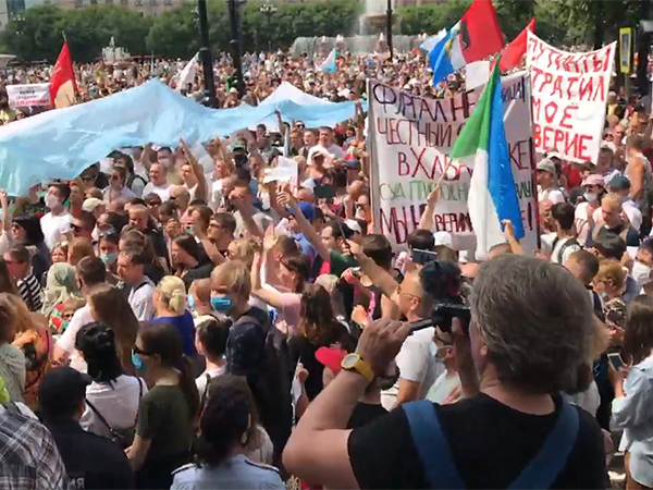 митинг в Хабаровске, 25 июля(2020)|Фото: youtube.com/channel/UCUgC8XLVuSr8wDyUoeb5mwA