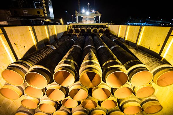 """Трубы для газопровода """"Северный поток — 2""""(2020) Фото: gazprom.ru"""