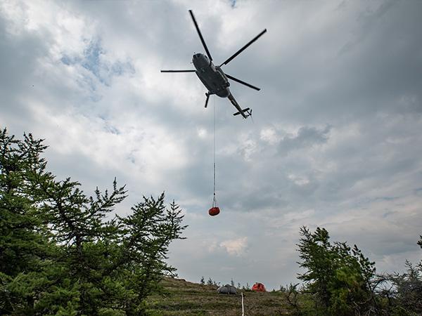 Тушение пожара в заповеднике Денежкин камень(2020)|Фото: российское отделение Гринпис