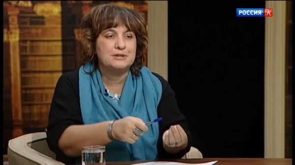 Историк, член ЦК ОКП Дарья Митина(2020)|Фото: tvkultura.ru