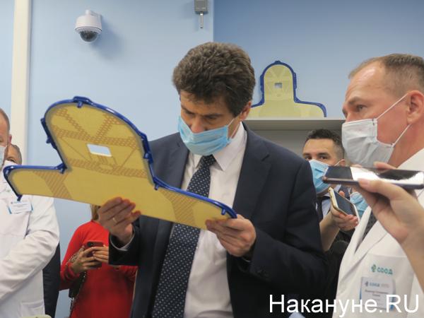 Александр Высокинский в Свердловском областном онкологическом диспансере(2020) Фото: Накануне.RU