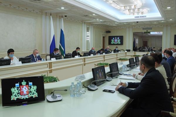совещание у губернатора Свердловской области(2020)|Фото: ДИП Свердловской области