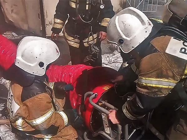 пожар в здании Уральского отделения РАН(2020)|Фото: 66.mchs.gov.ru