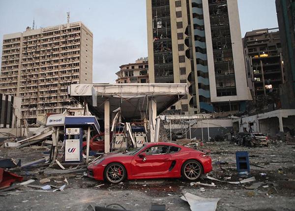 Последствие взрыва в Бейруте(2020)|Фото: Hasan Shaaban/Getty Images