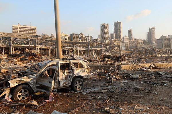 Последствие взрыва в Бейруте(2020)|Фото: Mohamed Azakir/Reuters