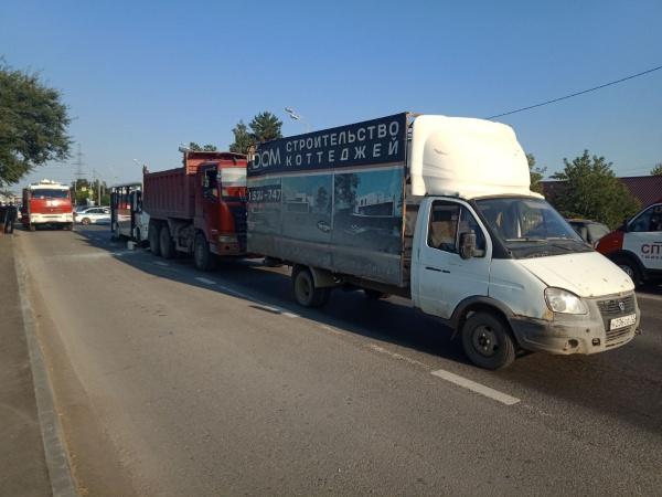 Автобус, грузовик, Газель, авария, Тюмень(2020)|Фото: Госавтоинспекция Тюменской области