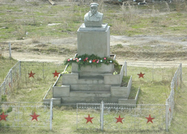 Памятник Ленину в селе Азанка(2020)|Фото: leninstatues.ru