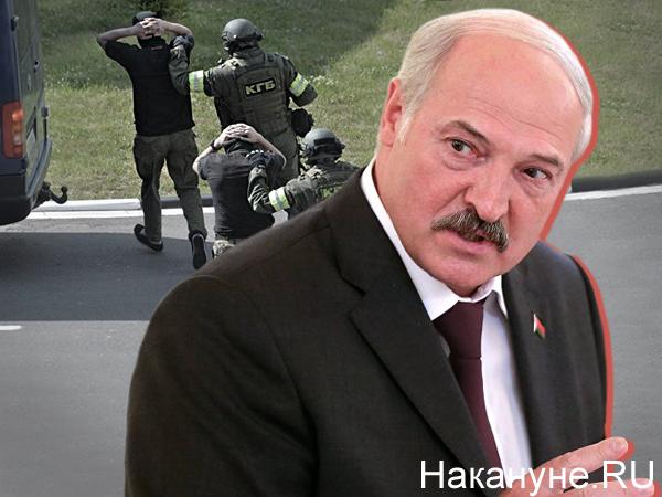 Коллаж, Александр Лукашенко, наемники ЧВК Вагнера в Белоруссии(2020)|Фото: Накануне.RU