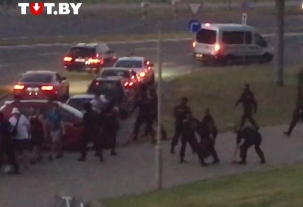 протесты в Минске(2020)|Фото: tut.by, скрин видео