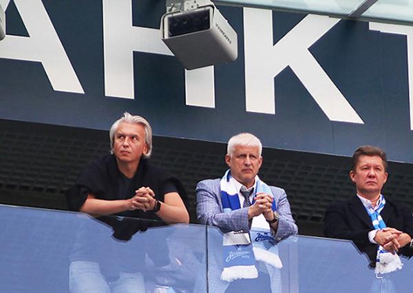 Александр Дюков, Сергей Фурсенко, Алексей Миллер(2020)|Фото: interessant.ru / Максим Константинов